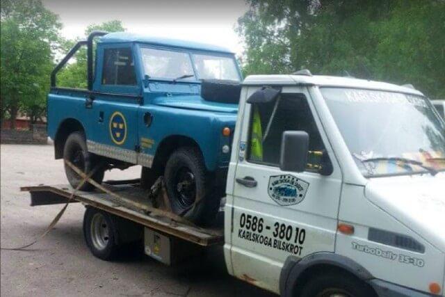 karlskoga bilskrot bildemontering boka hämtning